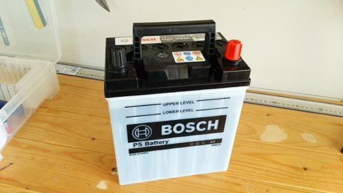 新品のバッテリー画像